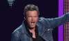Blake Shelton surprised look