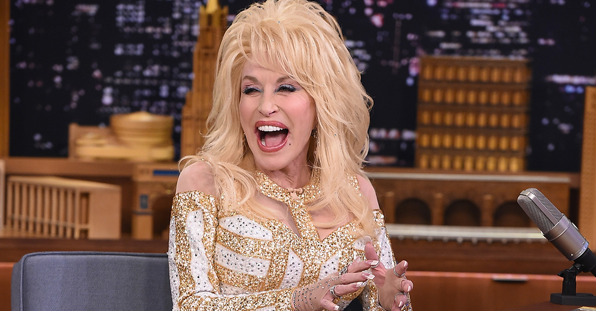 This lady discovered you truly can't judge Dolly Parton by her appearance