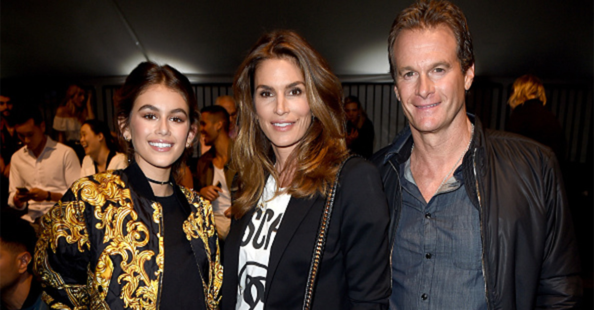 Cindy Crawford's daughter is all grown up and following in her mother's footsteps in her first magazine cover