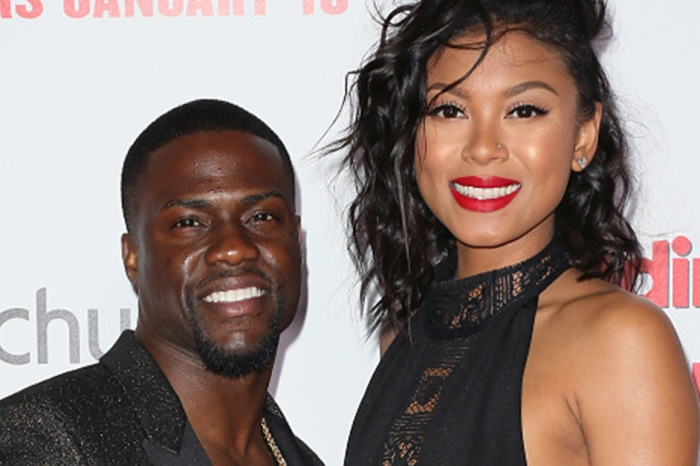 Kevin Hart's wife Eniko Parrish gave fans a peek at their newborn son just days after welcoming him