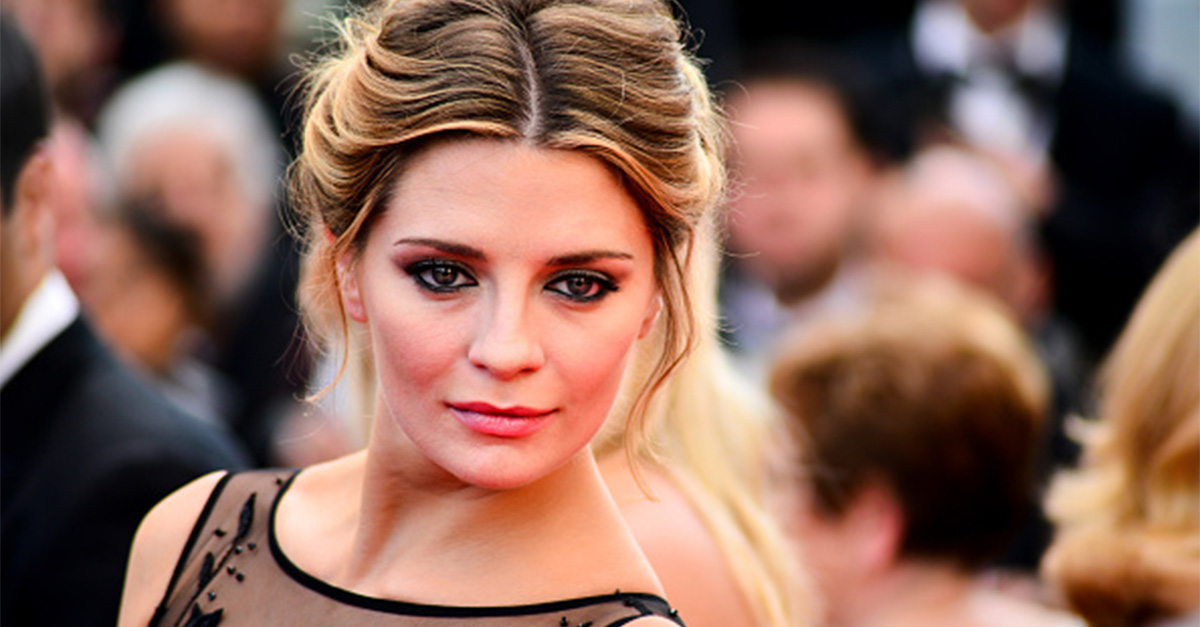 """Mischa Barton has been hospitalized after ranting about """"the world shattering"""""""