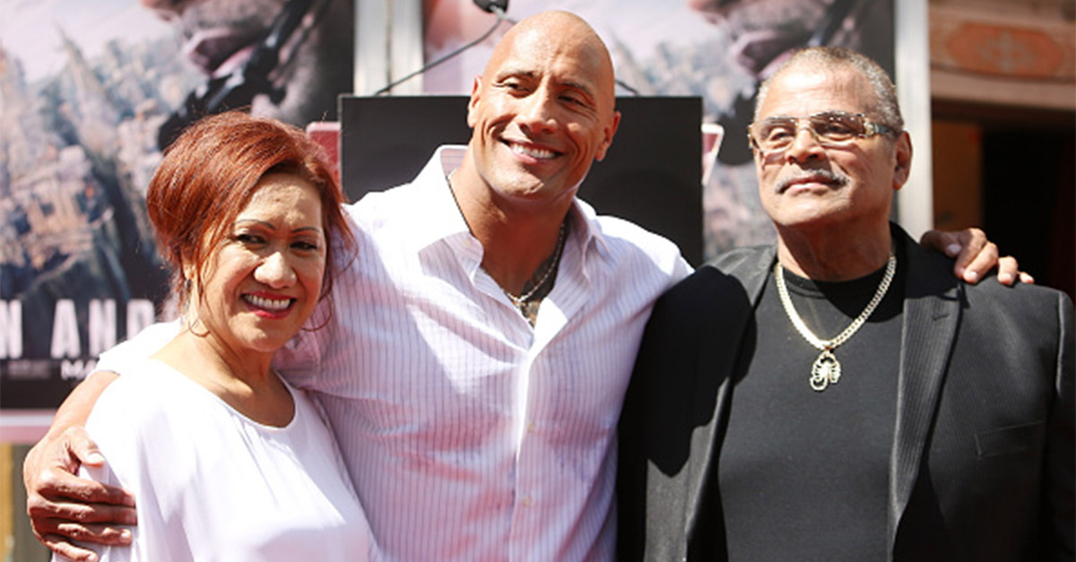 "Dwayne ""The Rock"" Johnson celebrates a career of hard work after his latest award"