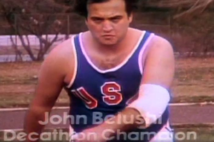 "John Belushi's Olympics Commercial on ""SNL"" Deserves All The Gold Medals"