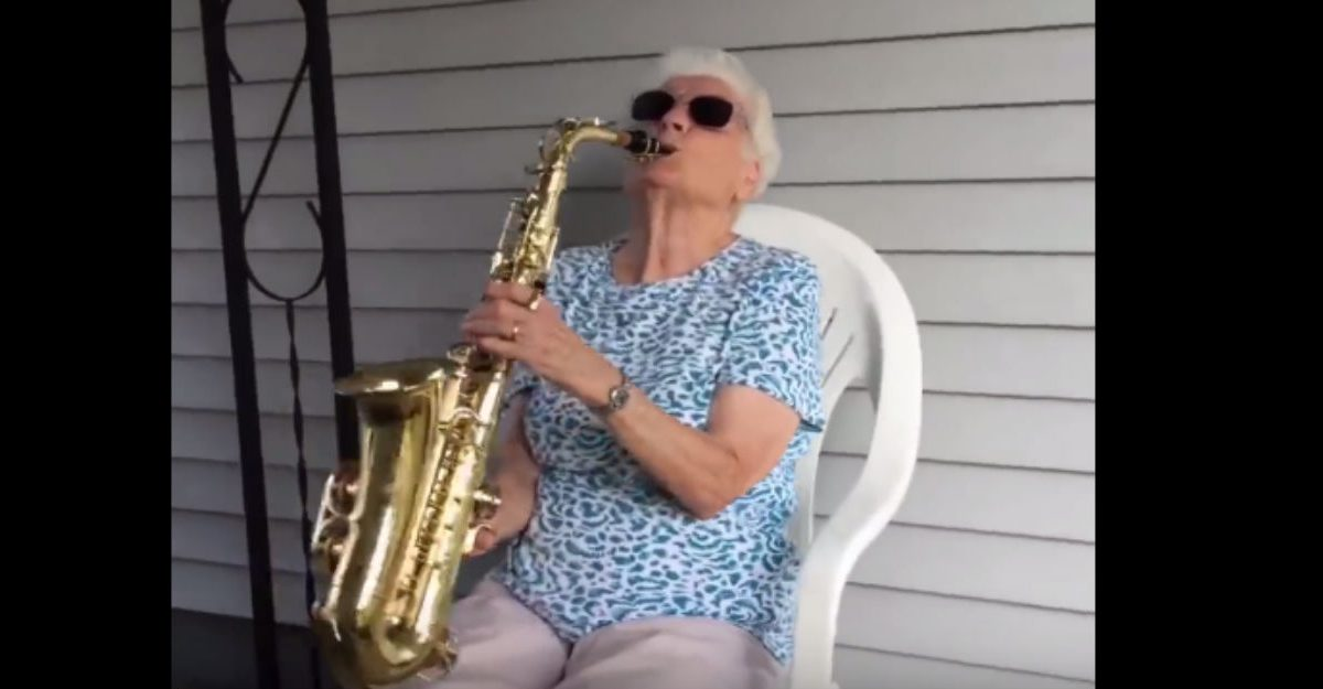 Grandson and his grandma have the most adorable and hilarious relationship ever