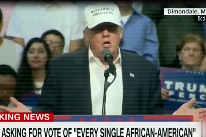 Trump responds to Clinton's attack ad about racism with his new favorite line