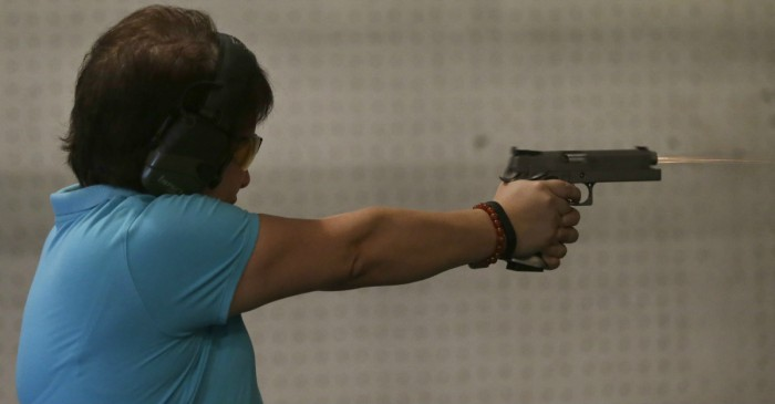 Teachers are learning how to defend themselves and their students with guns in this intense program