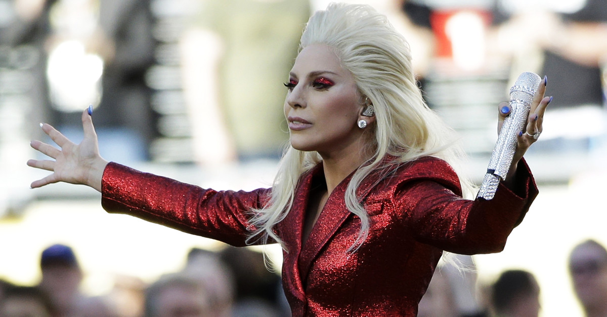 Here's how Lady Gaga is warming up for her Super Bowl halftime performance