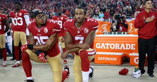 Refusing to stand for the National Anthem doesn't unify anyone