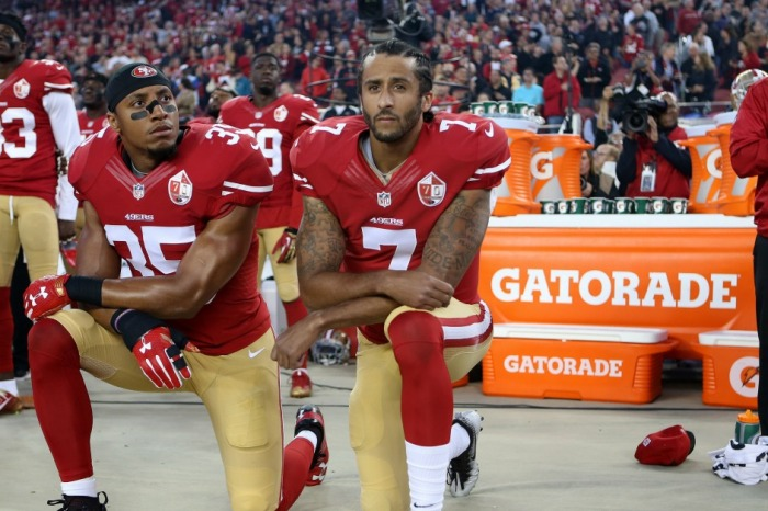 If we're nitpicking the NFL protesters' method, we're missing their important point