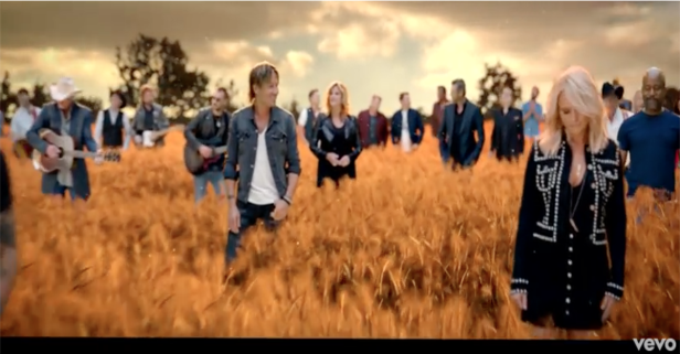 """The """"biggest music video in country music history"""" continues to give us chills every single time"""