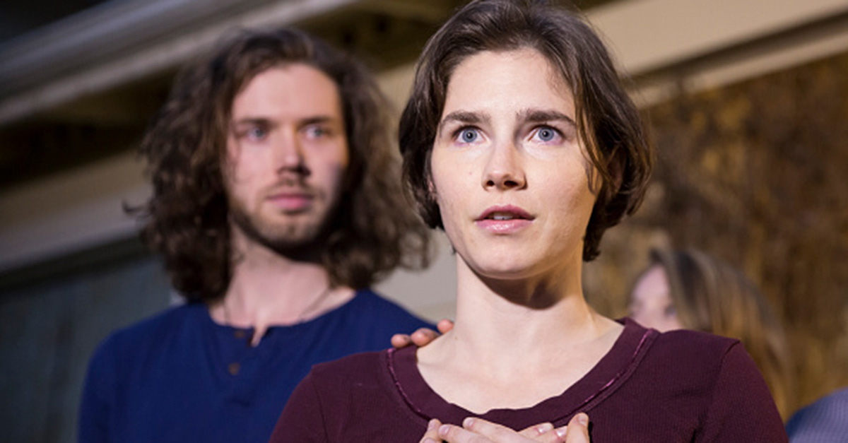 Amanda Knox calls for sympathy and help for the girl who begged her boyfriend to kill himself