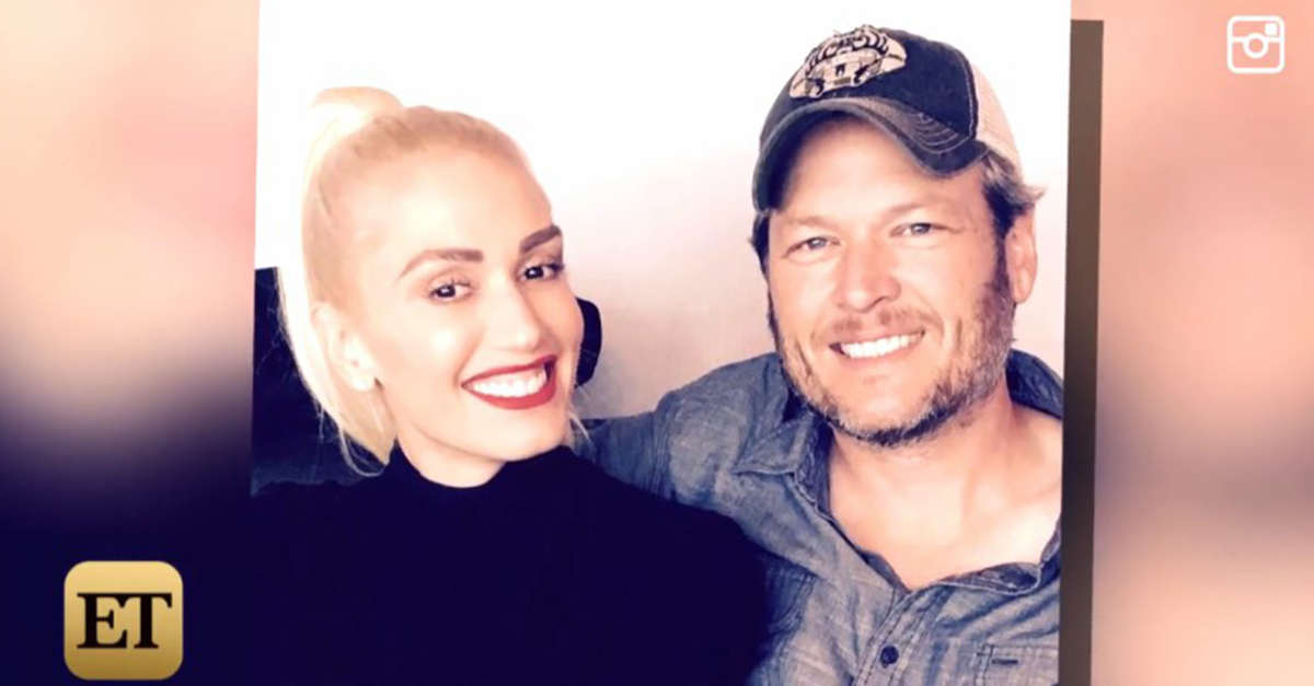 Sounds like Blake Shelton is schooling Gwen Stefani on country music