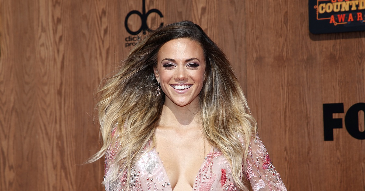 Jana Kramer puts this sparkly ring on full display in the name of love