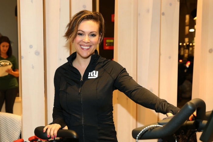 "Actress Alyssa Milano says she's coming to Houston, but it's not for our ""great"" spring weather"