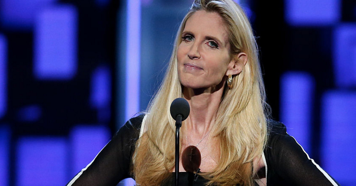 "Ann Coulter tweeted that President Trump should be ""head of church"" — That's Jesus's job"