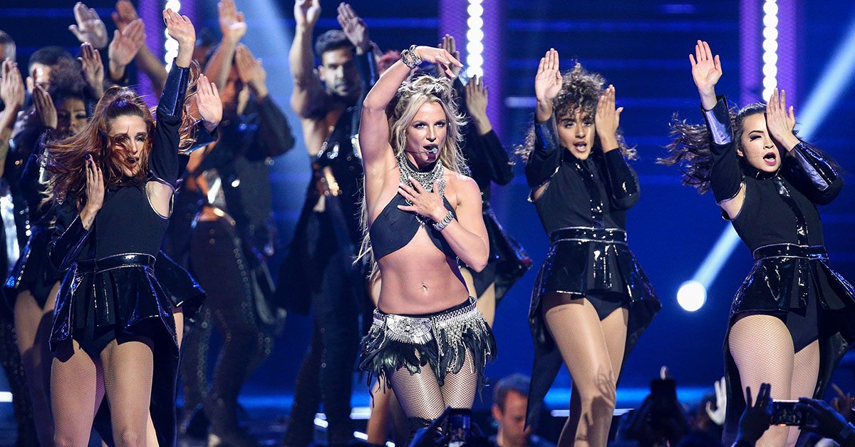 Britney Spears wowed the internet with this very revealing photo