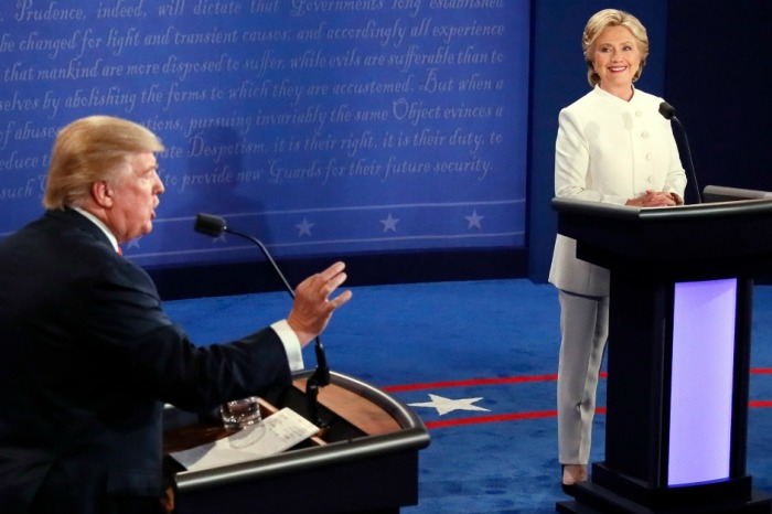 Two actors reversed the genders of Donald Trump and Hillary Clinton in a debate, and the results shocked academia