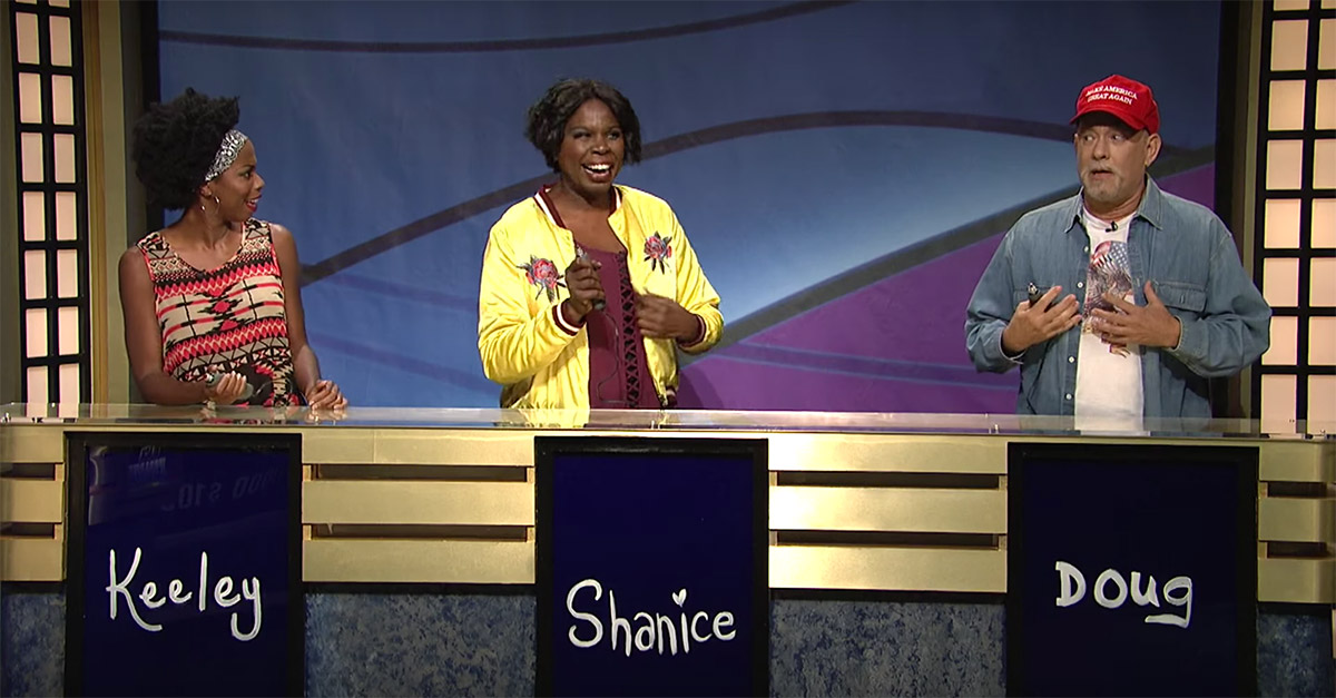 "Remember When Tom Hanks Ran the Table on SNL's ""Black Jeopardy?"""
