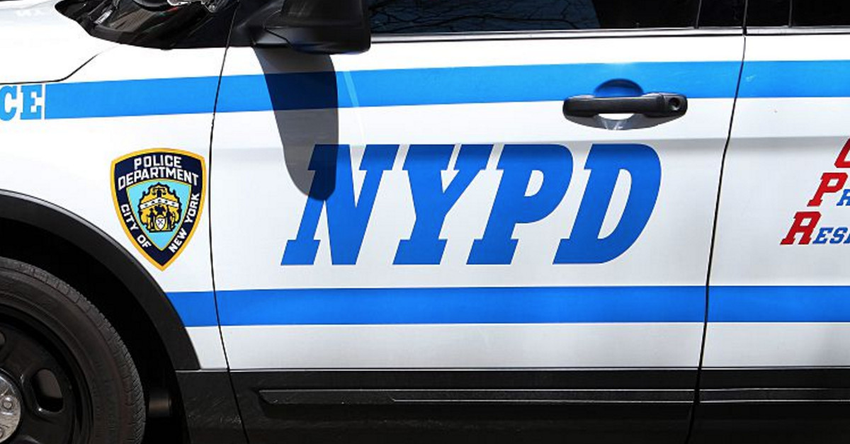 NYPD cop is getting grilled after sending out a tweet in support of #BlackLivesMatter