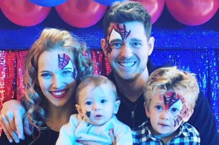 Michael Bublé's son celebrates his fourth birthday nine months after his cancer diagnosis