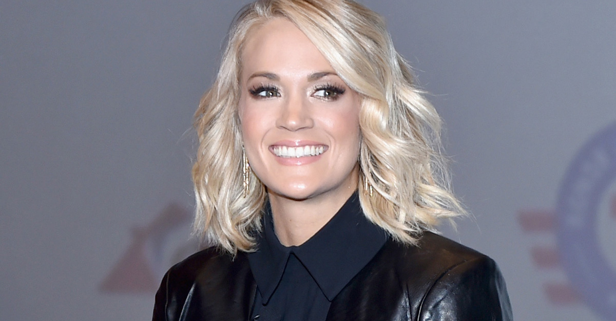 Carrie Underwood gets festive with this adorable Easter throwback photo