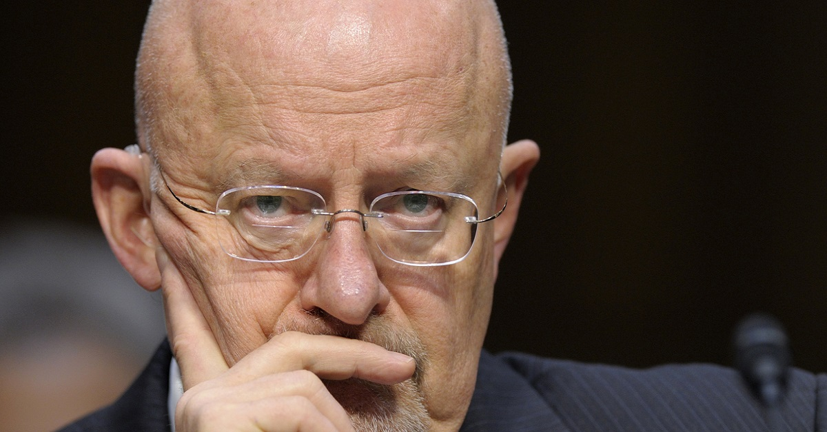 Lawmakers want to prosecute James Clapper for lying to Congress about mass surveillance