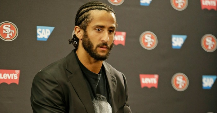 Colin Kaepernick may not have a job, but he's still earning praise with his latest accolade