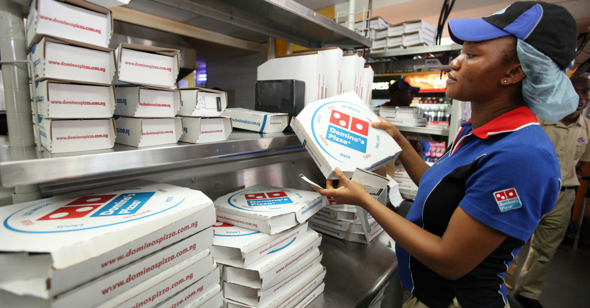 To have and to hold pizza? Domino's delivers wedding registry