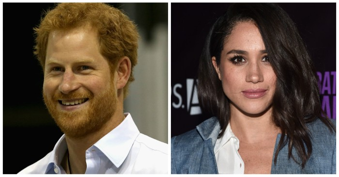 "Prince Harry visits girlfriend Meghan Markle on the set of ""Suits"""