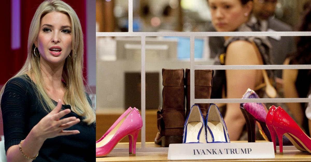 This major shoe retailer just gave Ivanka Trump's footwear line the boot
