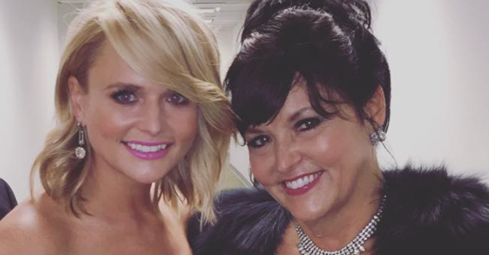 Get out the tissues for this love fest between Miranda Lambert and her mother
