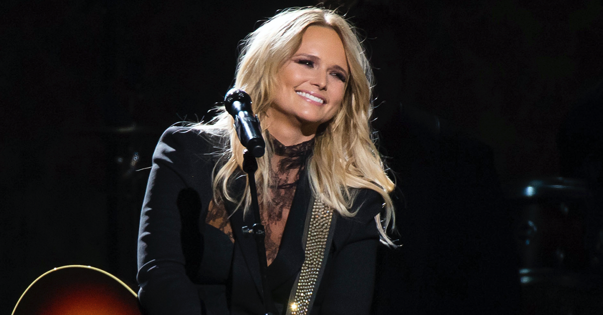 Miranda Lambert once again proves a little adversity won't get her down