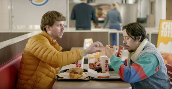 Napoleon Dynamite and Pedro reunite after 12 years for a tot-filled Burger King commercial