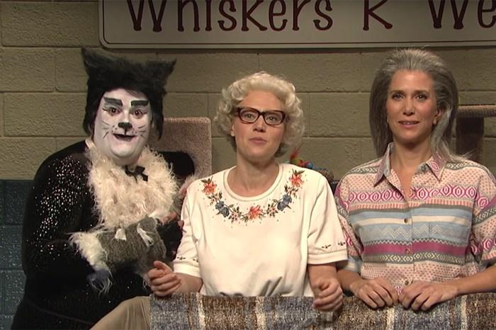"Kate McKinnon and Kristen Wiig are the craziest cat ladies on ""SNL"""