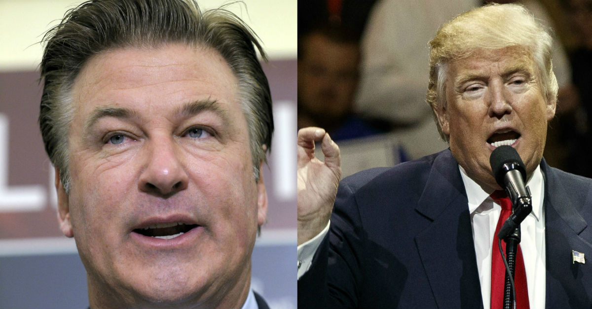 Alec Baldwin took another jab at Donald Trump with one hard-hitting Instagram post