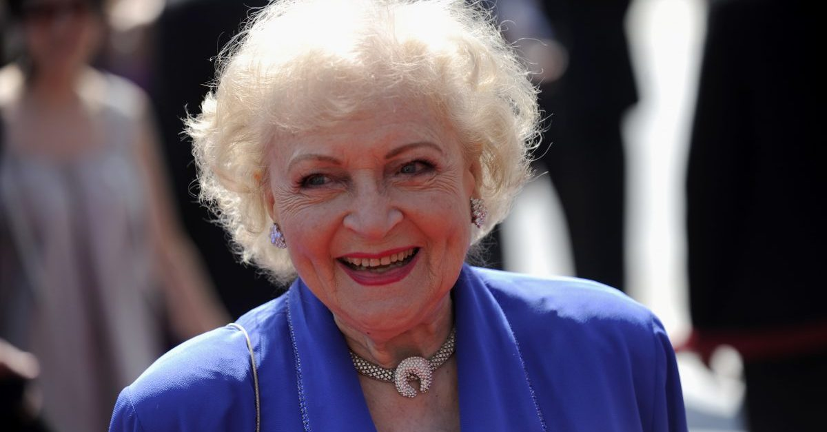 Betty White revealed her ultimate Hollywood crush and admitted she's still too scared to meet him