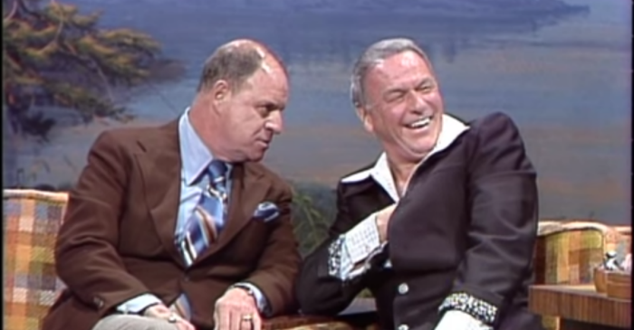 Flashback: Don Rickles Surprising Frank Sinatra on the Tonight Show Starring Johnny Carson