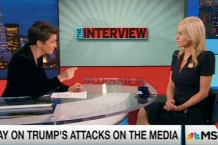 Rachel Maddow and Kellyanne Conway talked about Trump's relationship with the press in this showdown of an interview