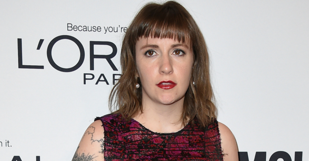 """""""Girls"""" creator Lena Dunham practically bares all in risqué mag photo shoot while reflecting on a new Trump world"""
