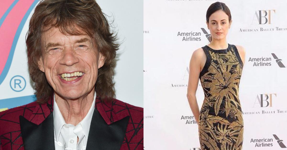 Mick Jagger's girlfriend Melanie Hamrick shared a sweet first photo of their newborn son