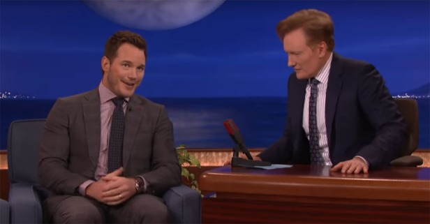 Chris Pratt isn't fluent in German, but he can use it to tell a filthy joke