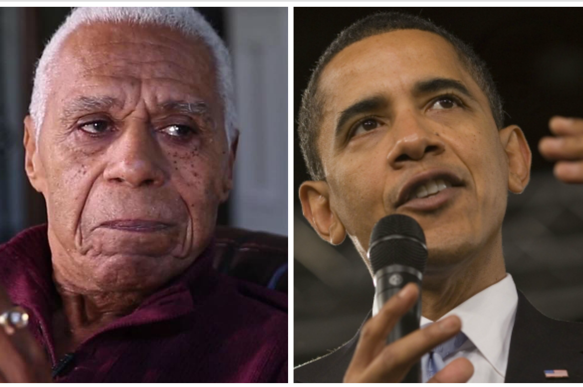 """""""It's something you can never duplicate"""": 90-year-old WWII veteran reflects on the Obama years"""