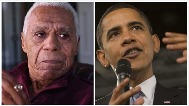 """It's something you can never duplicate"": 90-year-old WWII veteran reflects on the Obama years"