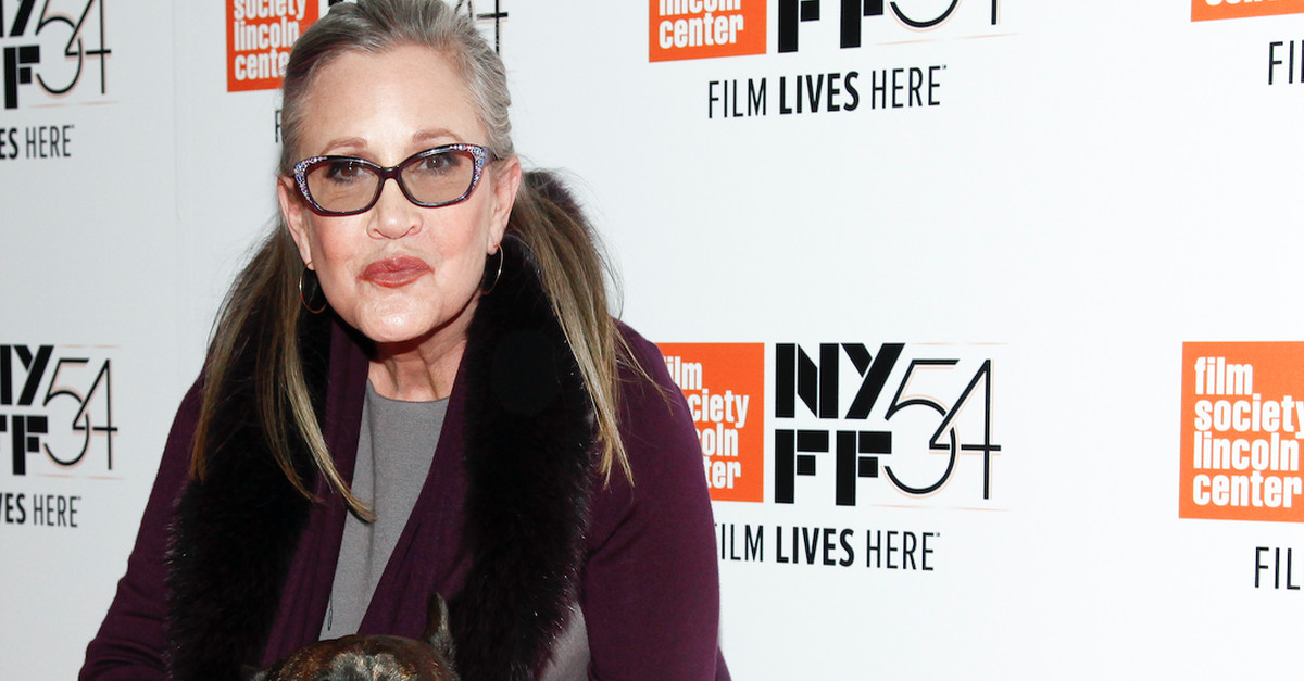 Carrie Fisher's family is on the hunt for the heroes who tried to save her after her mid-flight heart attack
