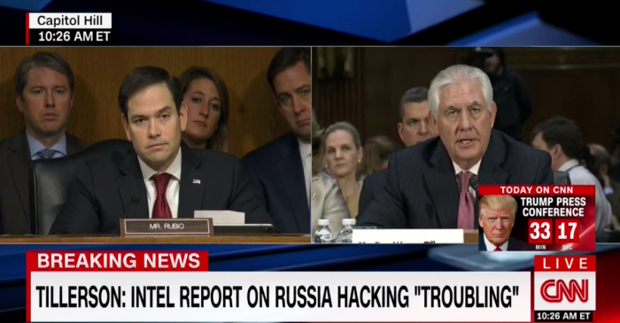 Marco Rubio asked Trump's Secretary of State pick if Putin is a war criminal — here's how he responded