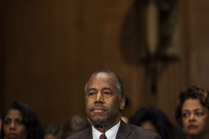 Ben Carson was in the middle of his confirmation hearing when he just had to make the reference on everyone's mind