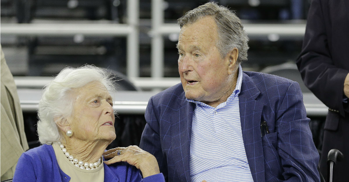 Good news has arrived for former President George H.W. Bush, who was hospitalized on Friday
