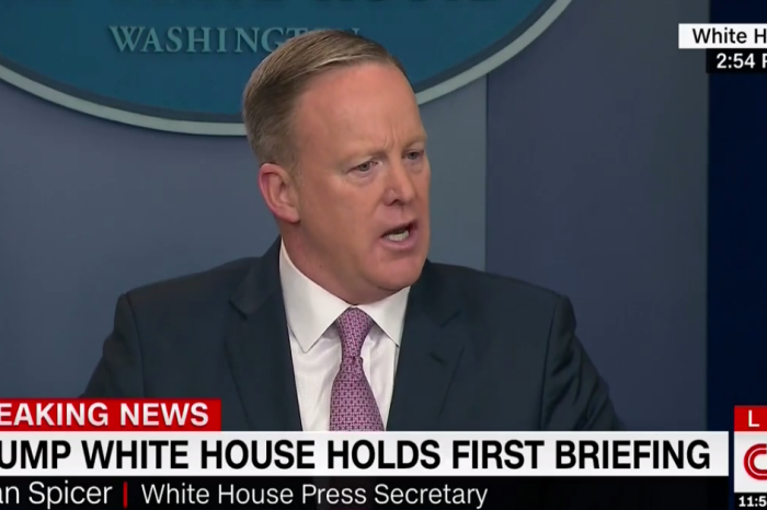 After months of dismissal by the media, Press Secretary Sean Spicer finally let loose on the press