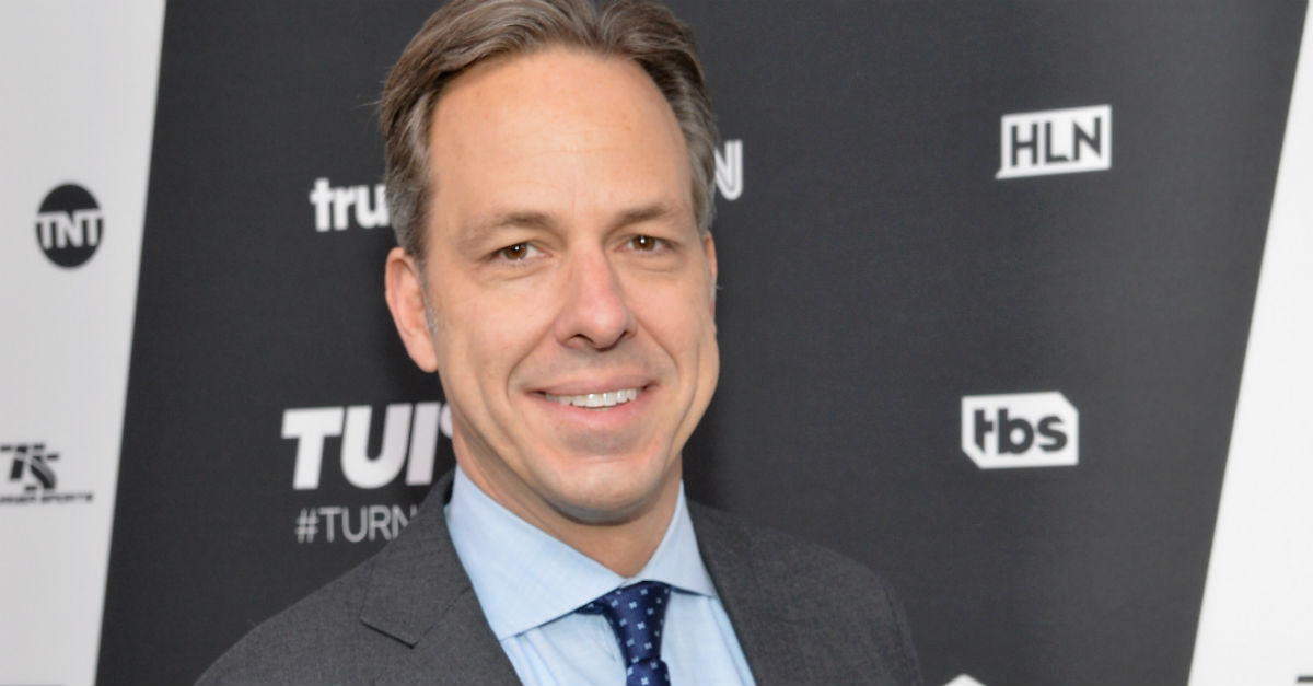 Jake Tapper tweeted out a Bible verse, and half of the internet lost it