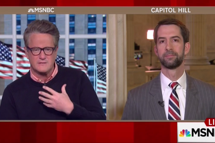 Joe Scarborough investigates whether Tom Cotton will be the newest bearded member of Capitol Hill
